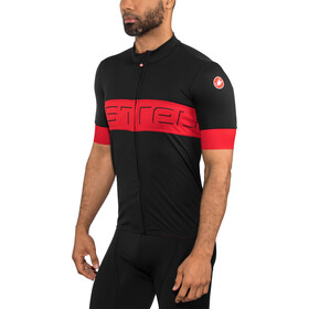 Castelli Prologo VI SS Jersey Men black/red/black